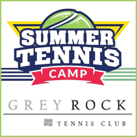 The link for Greyrock's Summer Tennis Camp website.