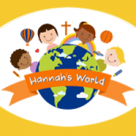 The logo for Hannah's World.